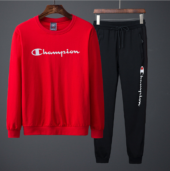 Champion hooded sweater men and women jacket running clothes lovers  two-piece - Born To Shop db6cc600b