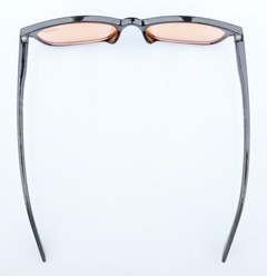 ef13bd633e6 Eyekepper Vintage Plastic Frame Spring Hinge Orange Tinted Lens Computer Reading  Glasses CG068-Black - Reading Glasses-Computer Eyeglasses-Game ...