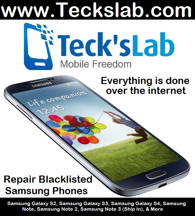 Repair your blacklisted Samsung Device - Bring it back to life - Free  Unlock - Teck's Lab