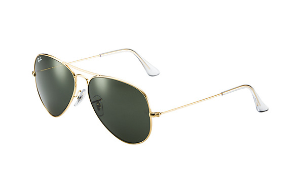 82dfe56b78 RAY BAN AVIATOR CLASSIC 3025 GOLD AND BROWN - ric gill