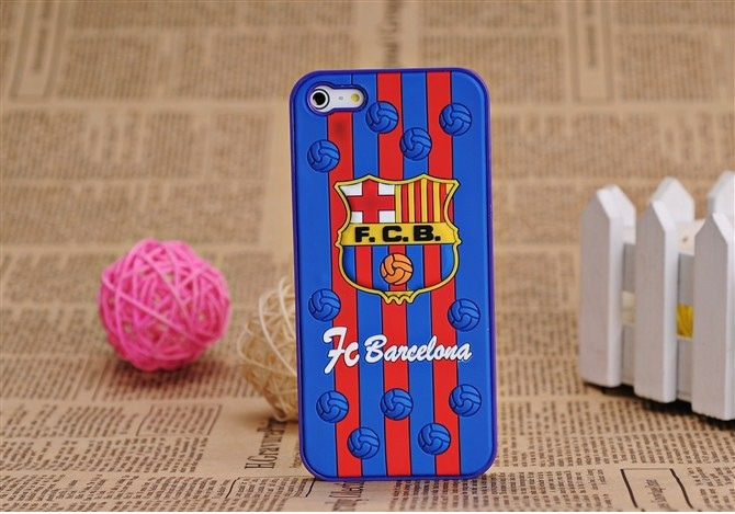 sale retailer 16fa5 b2c99 Exclusive 3D UEFA Barcelona FC Hard Case For iPhone 5S/5 - hdmi-cables