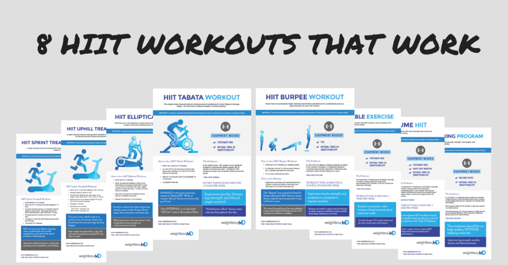 graphic about Printable Hiit Workouts identify How towards do a HIIT Elliptical Work out - weightlessMD
