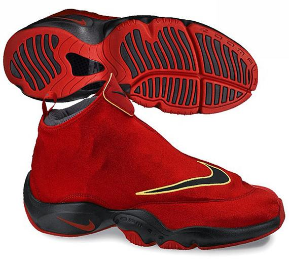 31f7e9ec66f025 Nike Air Zoom Flight Glove- Red   Black - ShoeBoss