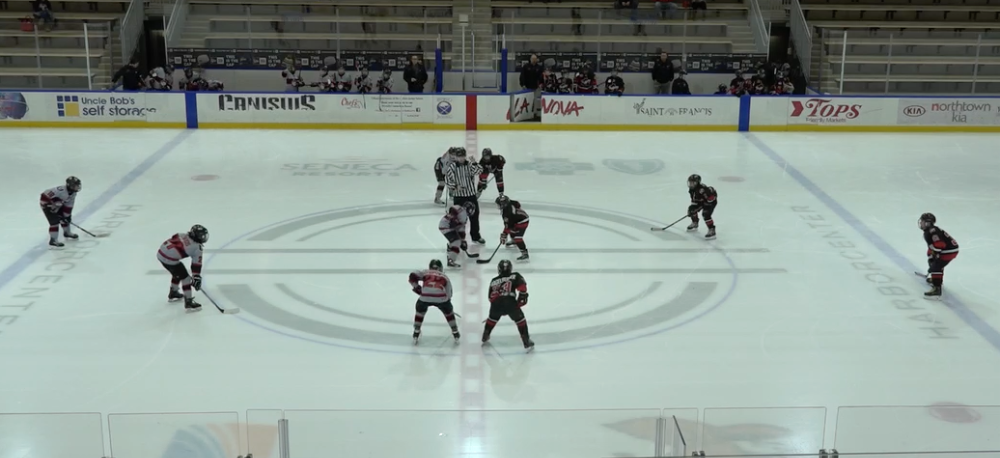 11U AAA - Amherst Knights vs Cleveland Barons