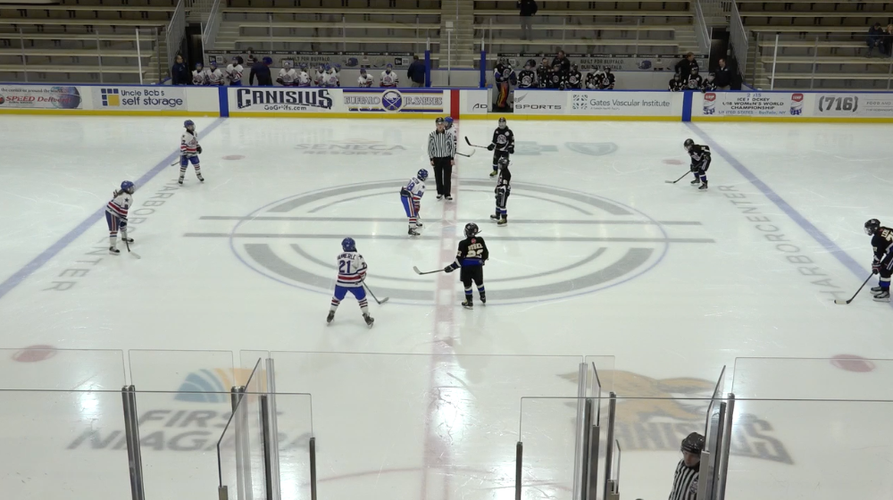 11U AAA Southern Tier Admirals vs Rochester Americans