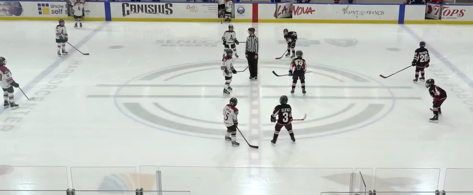 9U AA - Cleveland Barons vs Ancaster Avalanche