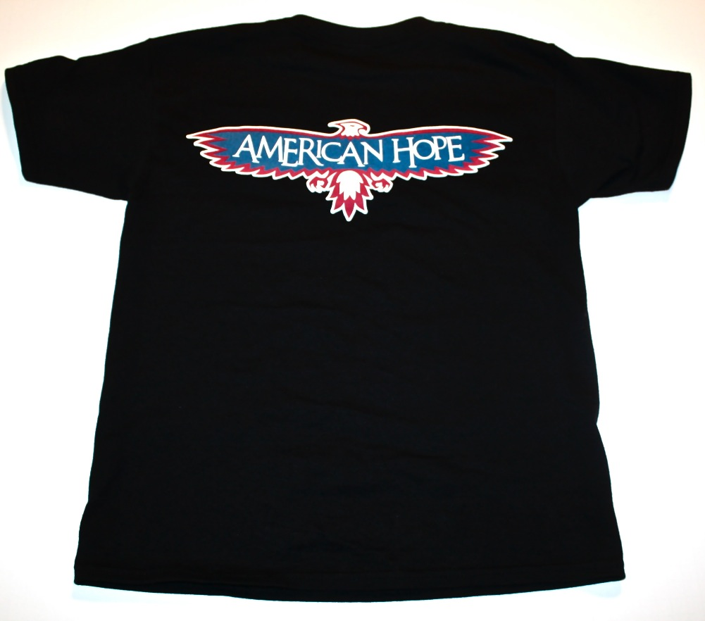 Adult T-shirt (Back View)